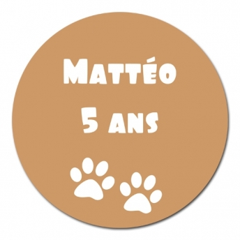 sticker rond OURS