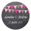 sticker rond Ardoise