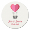sticker rond Love in the air