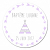 sticker rond Tipi