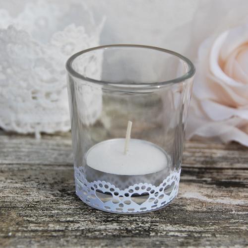 Bougeoir pour d coration de table de mariage - Comment fabriquer des bougies parfumees ...